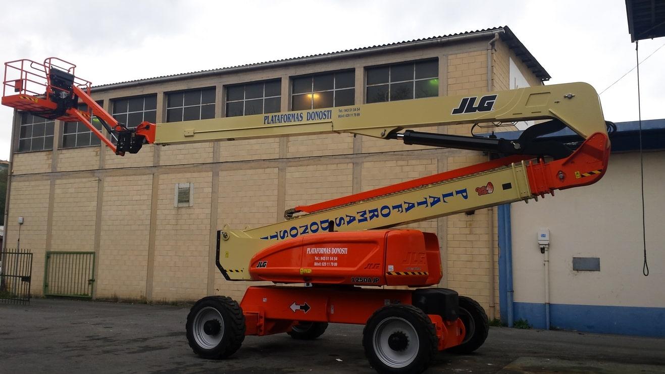 Plataformas elevadoras diésel de brazo articulado 1250 AJP