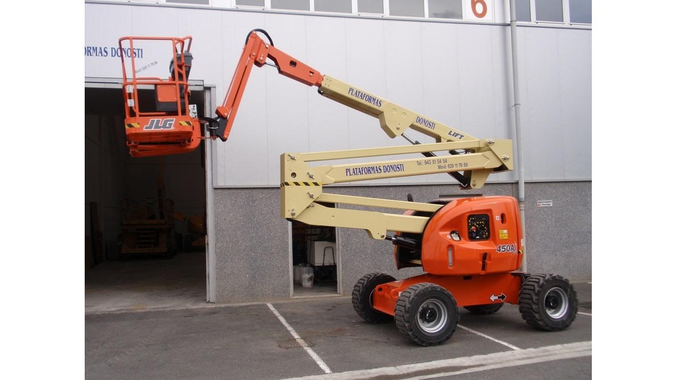Plataformas elevadoras diésel de brazo articulado 450 AJ