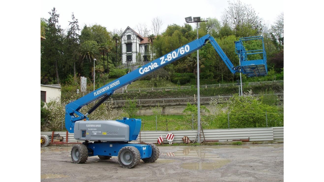 Plataformas elevadoras diésel de brazo articulado Z 80 60