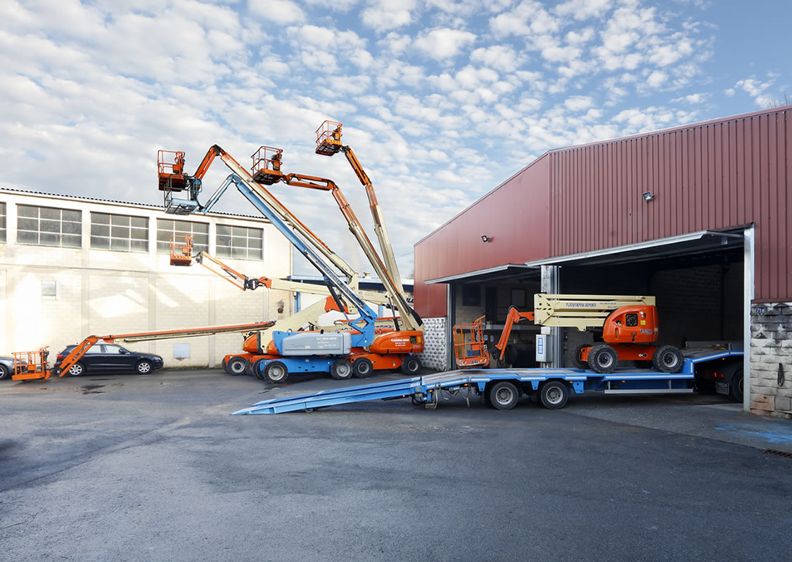 Alquiler de maquinaria de elevación de cargas en Donostia - San Sebastián