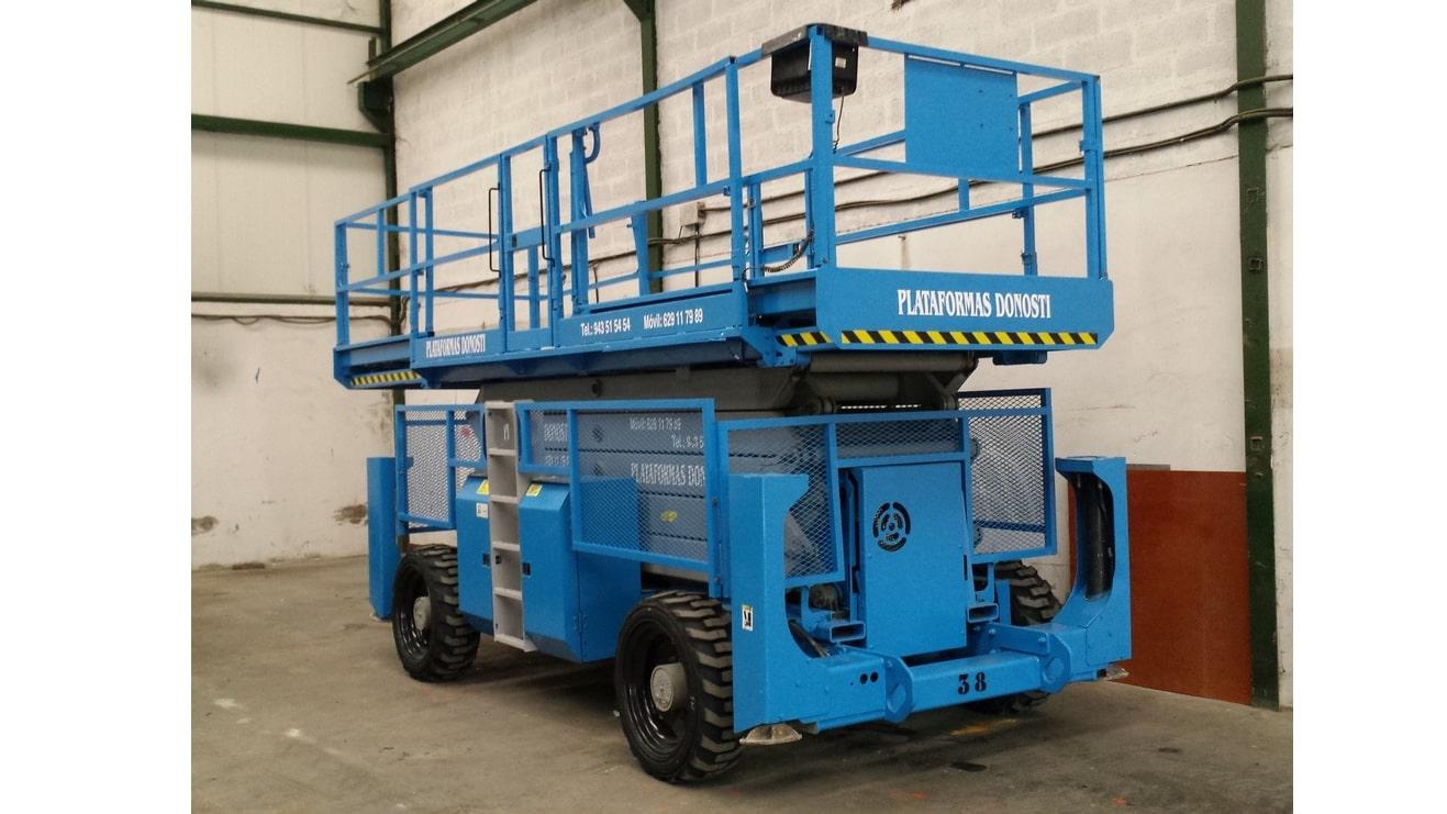 Plataformas elevadoras de tijera diésel GS 5390 RT