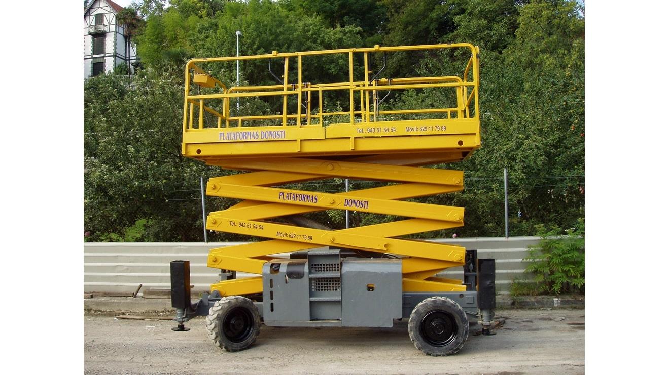 Plataformas elevadoras de tijera diésel HA 15 SX